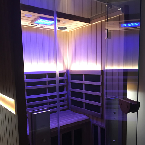 Infrared Sauna – Rest and Rejuvenate